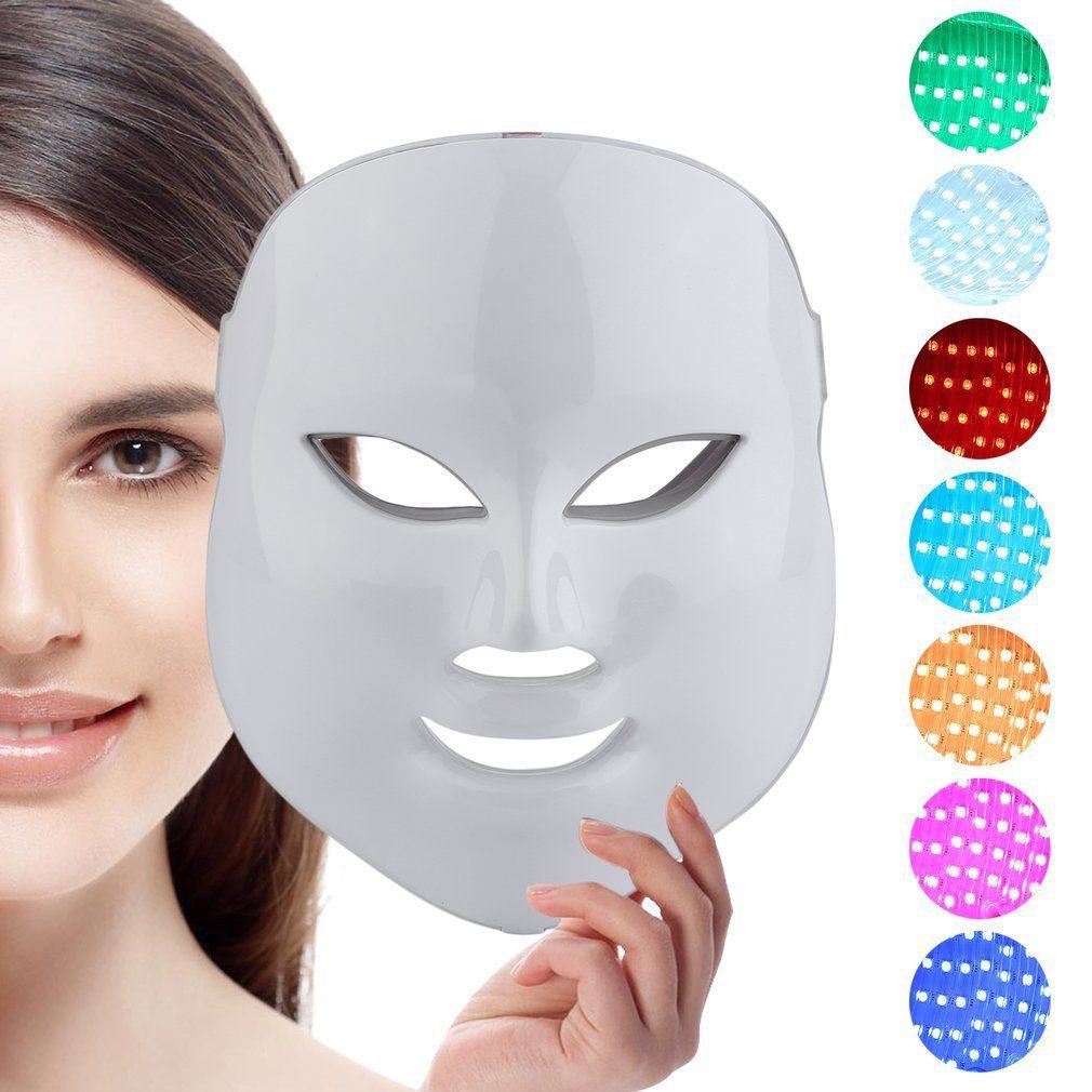 Máscara Led Skinceuticals Tecnología Nasa Para Un Rostro Radiante