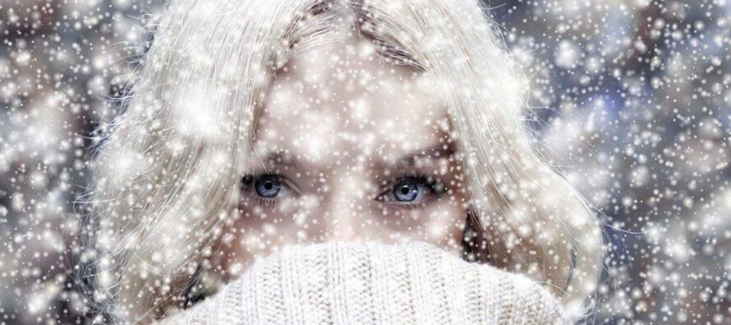 Nuestra piel se ve agredida por el frío en invierno