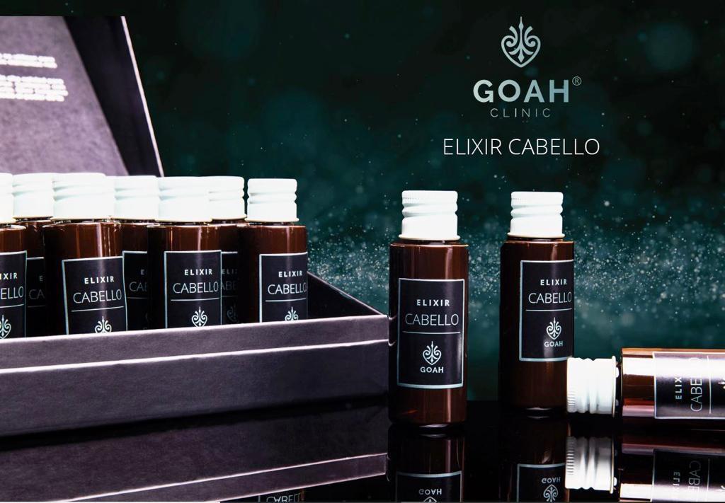 Nuevo elixir Goah Clinic cabello
